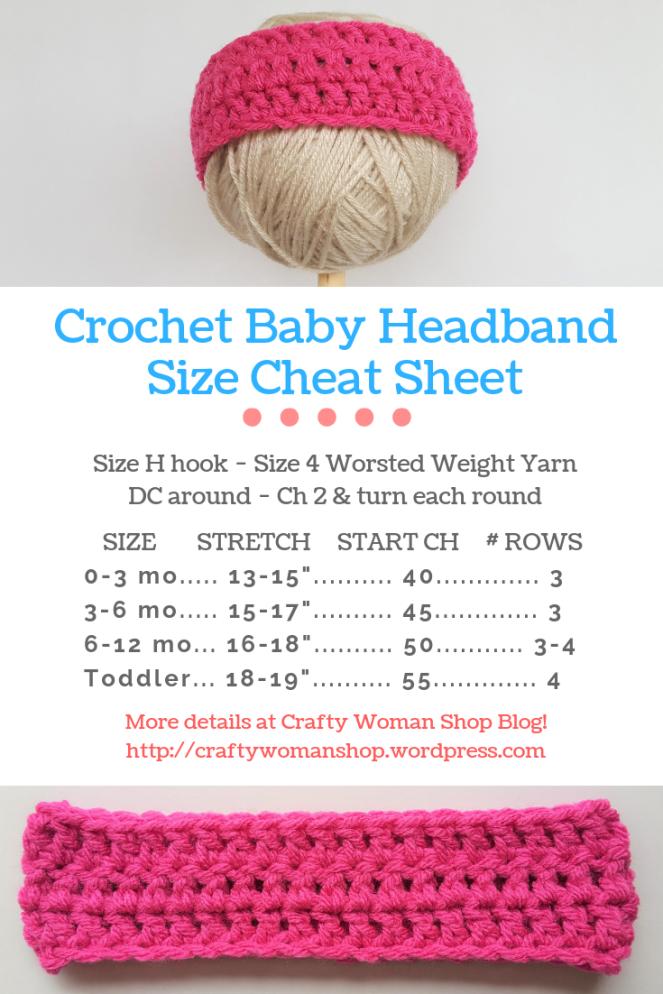 Headband Cheat Sheet Pin